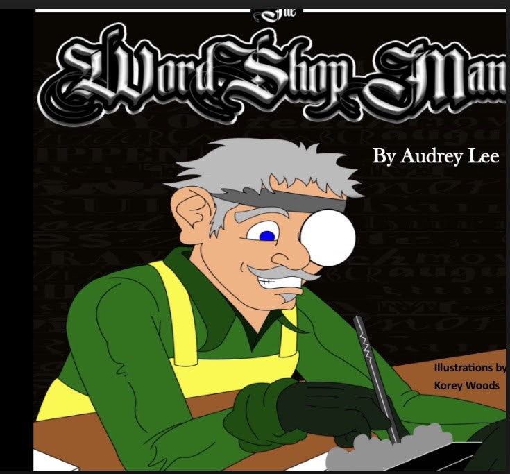The Word Shop Man by Audrey Lee